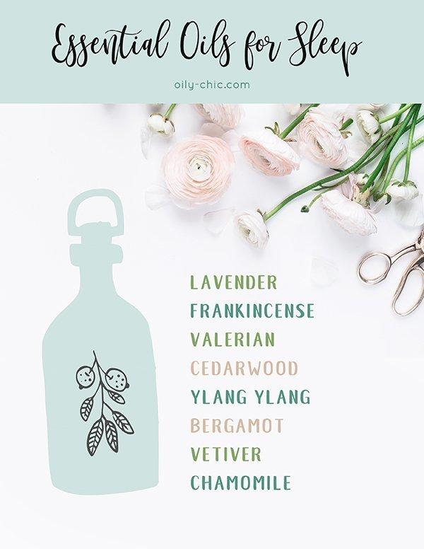 essential oils for sleep guide