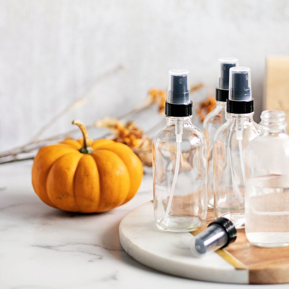 Celebrate all the things you love about fall with an essential oil room spray recipe. Each recipe is designed to capture the aromas and feelings of fall for your home.