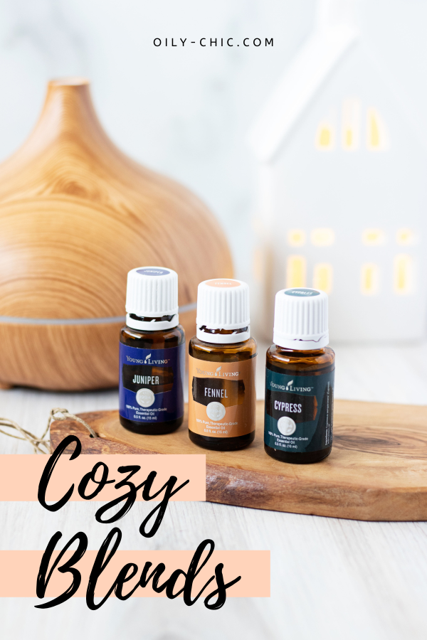 Nothing says COZY like the comforting scents of clove, juniper, cinnamon, cedarwood, orange, and cardamom. Find all our essential oil diffuser blends for the cozy season here with a printable too.