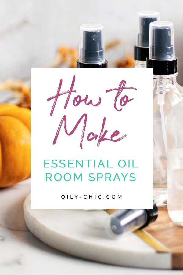 How do you make a room spray with essential oils? All it takes is a few steps and three simple ingredients. I created a natural room sprays for all our fall favorites and you can too!
