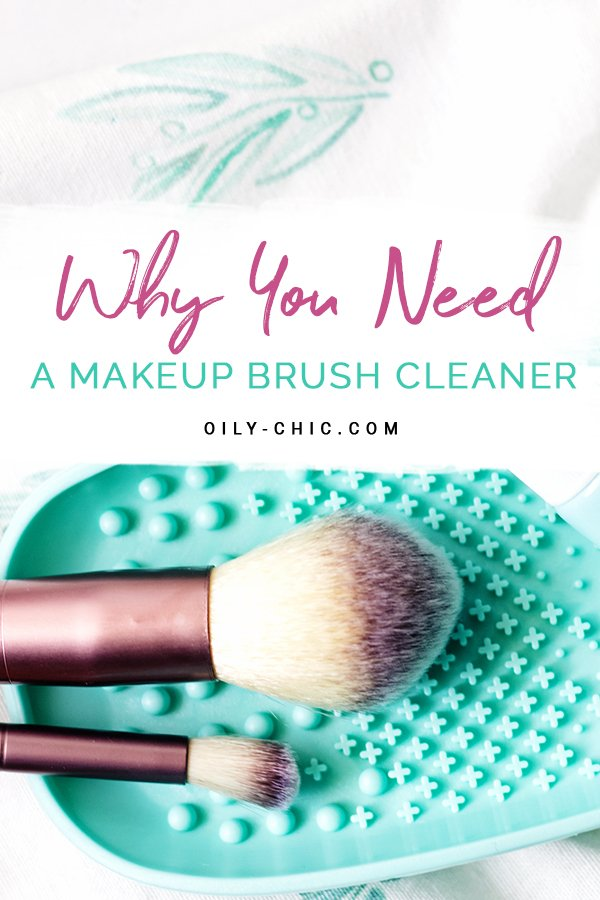 If you're applying makeup most days of the week your brushes warrant the need for a good makeup brush cleaner!