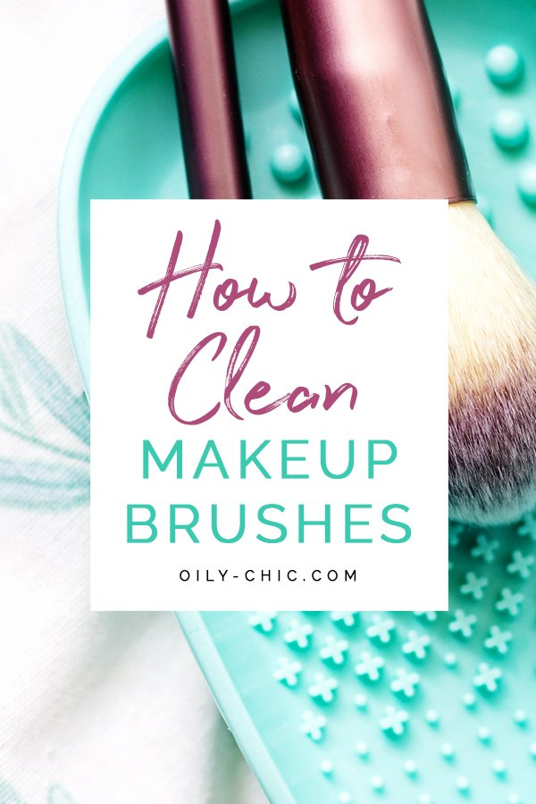 I promise once you give your brushes a deep clean and notice the difference this cleaning task will rise to the top of your to-do list! It certainly makes a big difference in keeping my skin clear. Learn how to clean makeup brushes with an easy DIY cleaner.