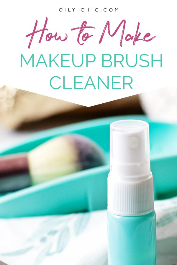 I'll show you how to make a makeup brush cleaner for a deep clean and an easy DIY makeup brush cleaner spray.