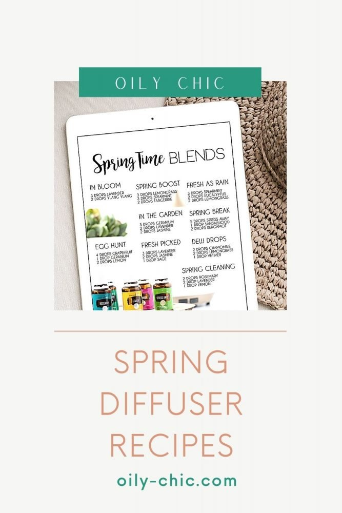 Don't miss our quick tips on how to use the best smelling essential oil blends for spring to make DIY room sprays, diffuser blends, and essential oil perfume!