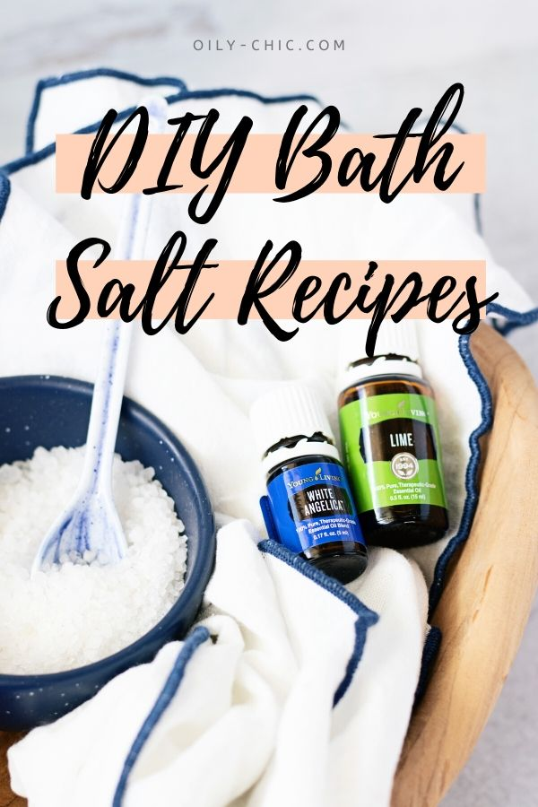 Essential oil bath salts are an easy method to melt stress away. In fact, you'll be relaxed in no time with just 3 ingredients in these DIY bath salt recipe!