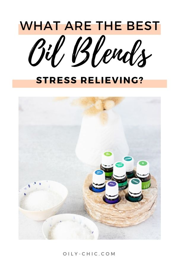 Essential oils can help you reach the ultimate relaxation. Find the best stress reducing blends in one printable.