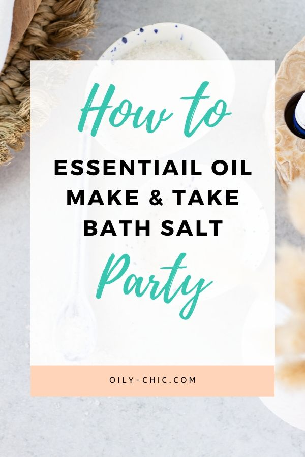 Make a self care night with friends at your next essential oil make and take party! Put on a chill playlist, start the diffuser, and lay everything out for making DIY bath salts. Here's 8 recipes for essential oil bath salts to get you started!