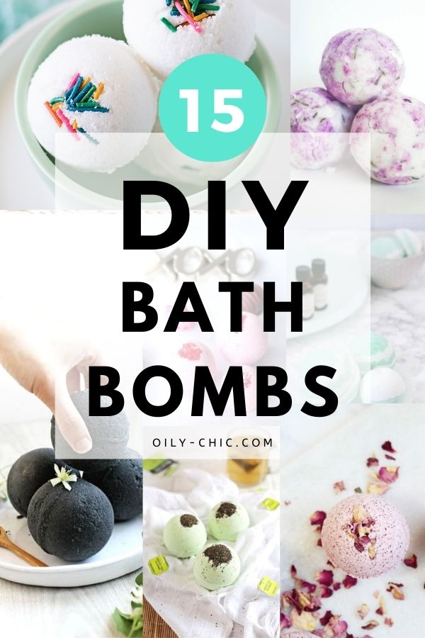 Check out these amazing DIY essential oil bath bomb recipes, find your favorite, and give it a go!