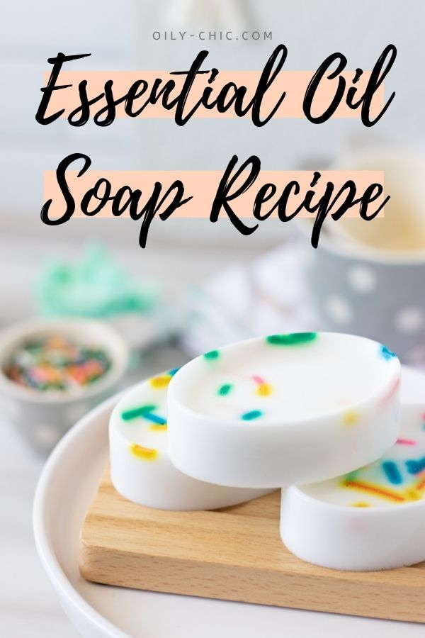 If you've always wanted to try making soap from home with your kids, now's your chance with this brilliantly easy essential oil soap recipe!