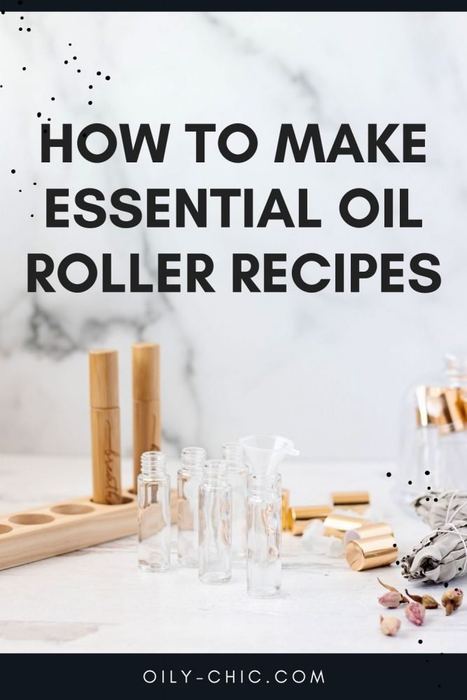 We've got all the details on how to make essential oil roller bottle recipes from start to finish including a handy printable essential oil dilution chart for 10 ml roller bottles!
