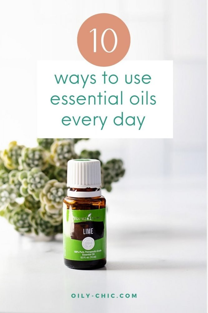 These 10 ways to use essential oils everyday will build your knowledge and experience one method at time.