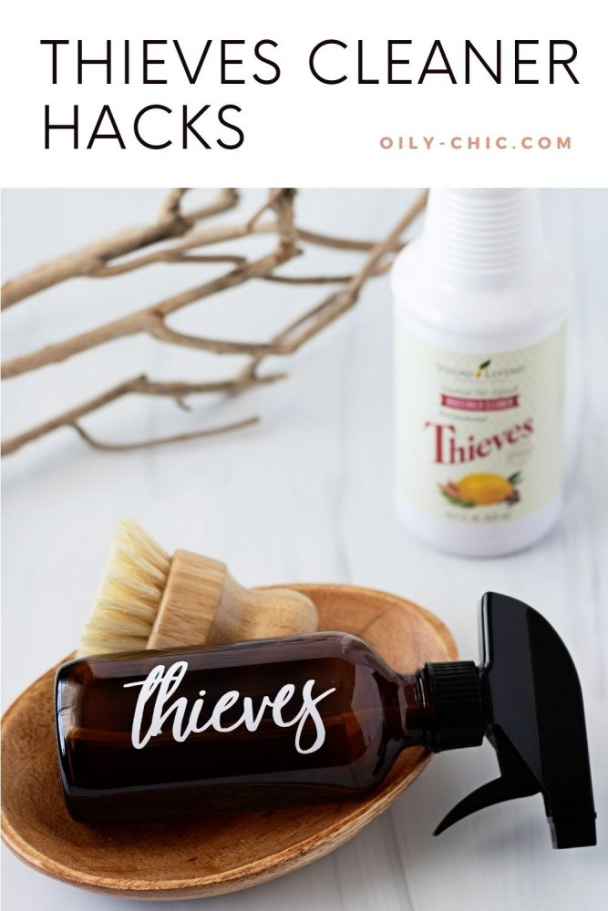 You'll quickly see how these Thieves hacks will replace most, if not all of your household cleaners with 20 ways to use Thieves cleaner in your home.