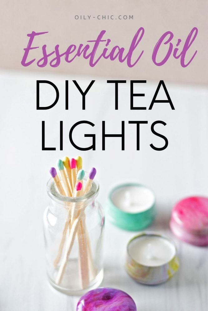 These DIY essential oil candle tea lights are the answer to making natural plant-based soy candles with essential oils!
